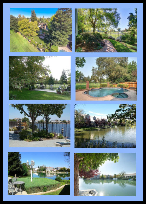 Elk Grove Homes for Sale Water or Golf Course